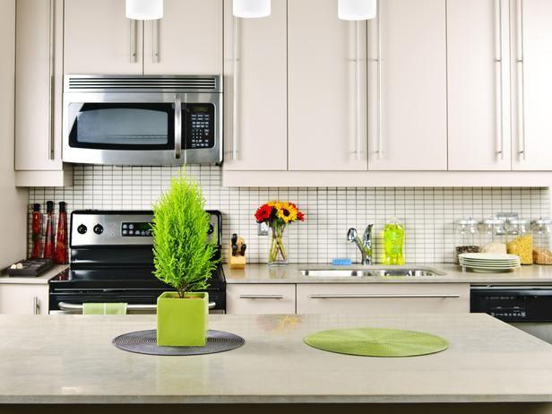 Limestone kitchen countertop