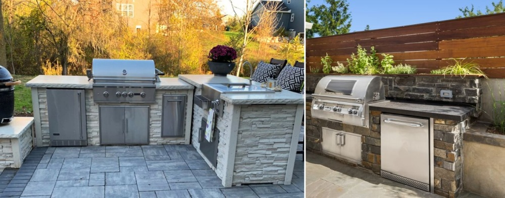 Outdoor Grilling Stations