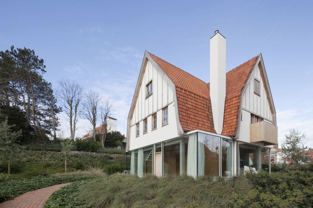 Everything on top of the ground floor retains the original design and style of the house