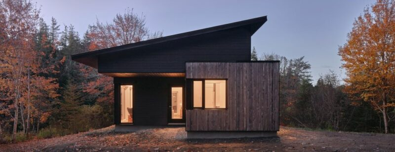 A Charming Lakeside House Made Entirely Of Wood