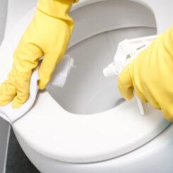 卫生间碗清洁
