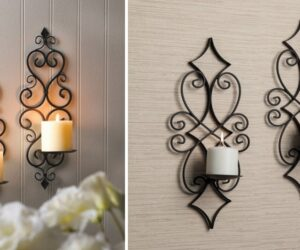 Amazing Wall Candle Holders and Sconces To Spruce Any Blank Wall