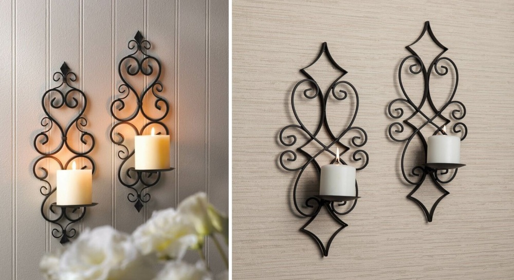 Wall Candle Holders and Sconces