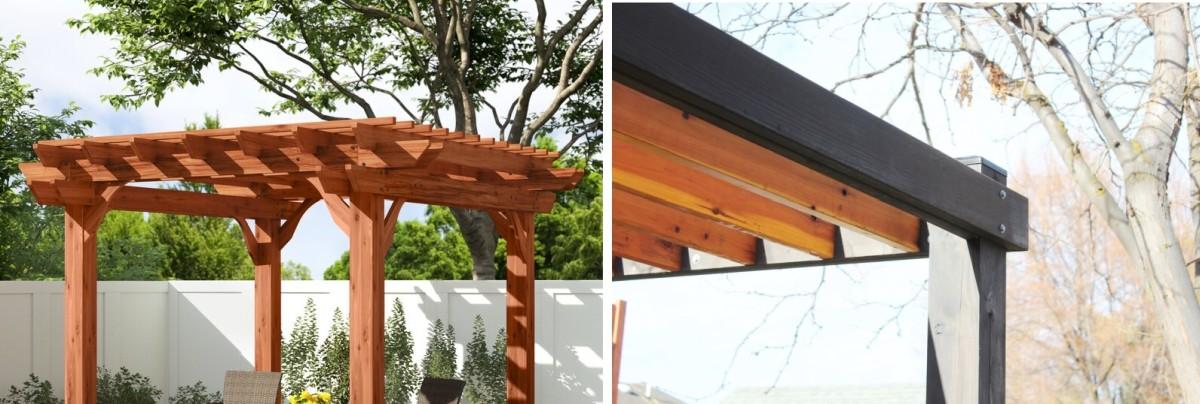10 Gorgeous Wood Pergola Kits for Your Backyard