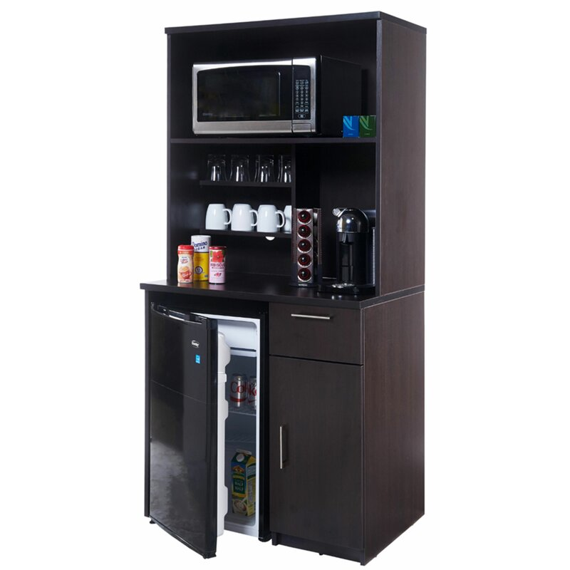 breaktime coffee kitchen cabinet black