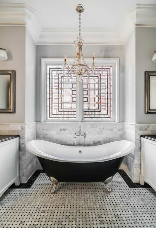 How To Turn Your Bathroom Into A Victorian Bathroom