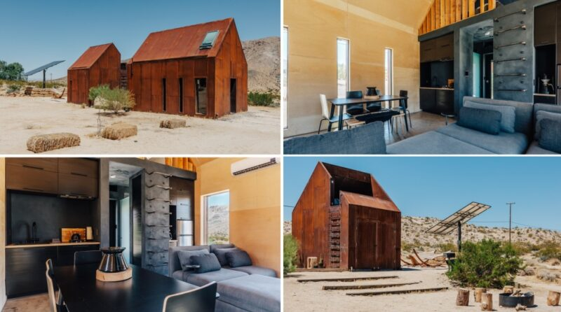 Sustainable Construction and Modern Tech Create a Stylish Off-Grid House