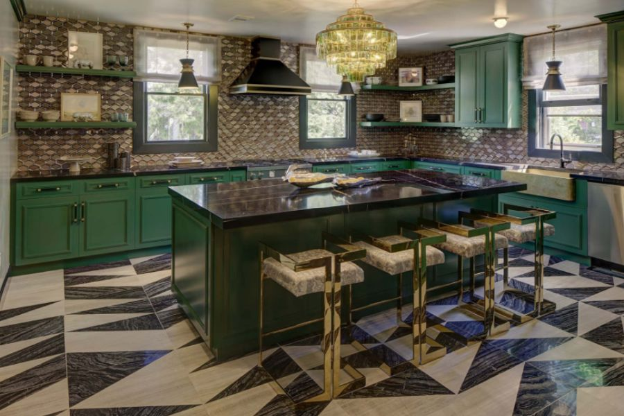 Green Kitchen Cabinets Design That You Can Make Your Own