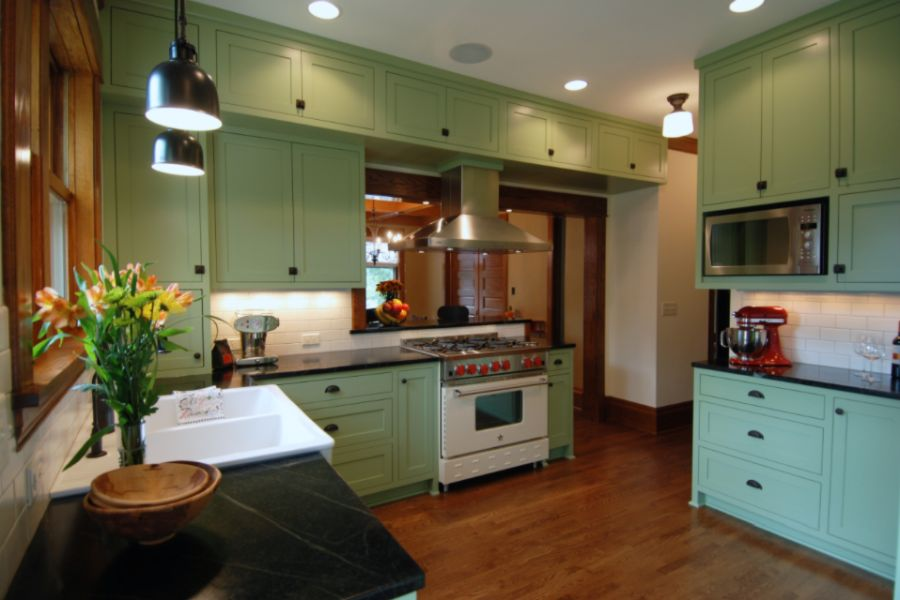 Desain lemari dapur