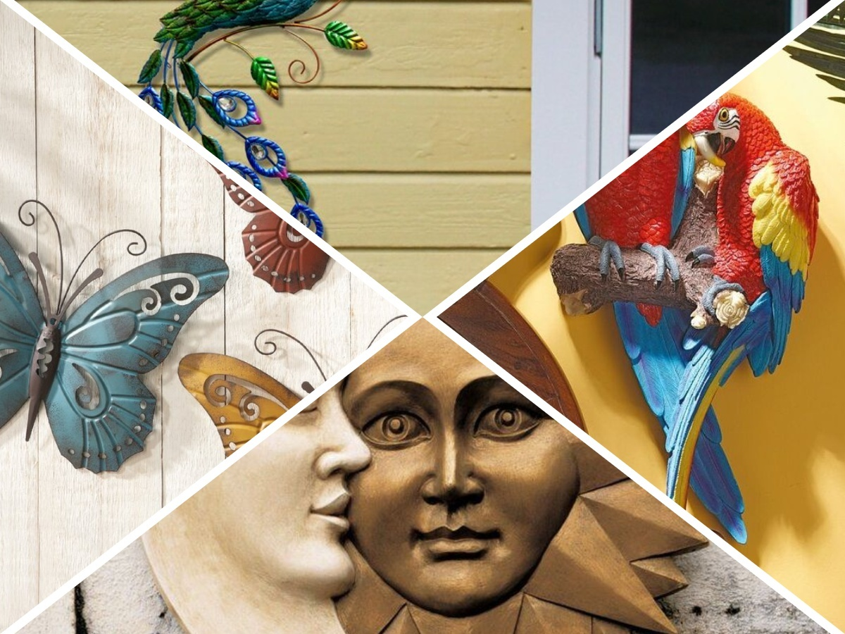 Gorgeous Outdoor Wall Art Ideas To Make Your Patio Area More Welcoming