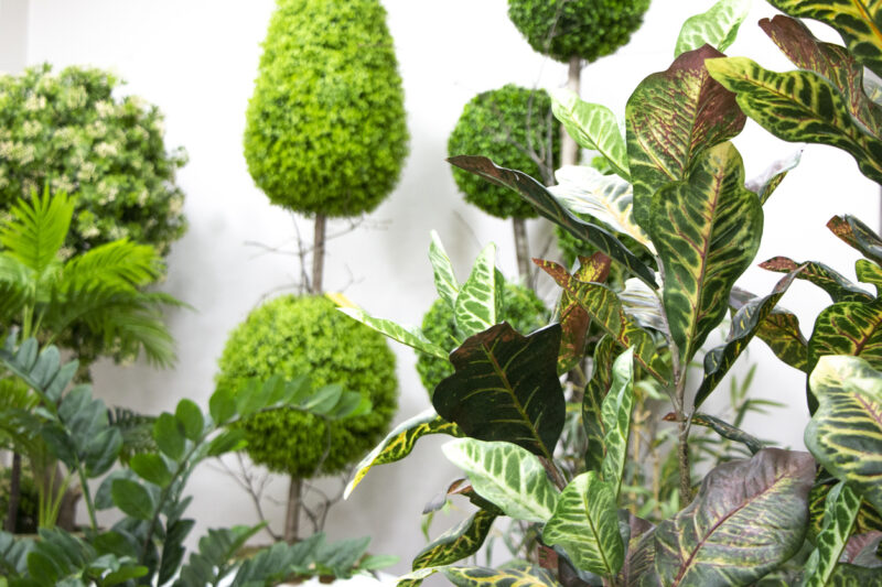 Decorating With Greenery Through Artificial Outdoor Plants