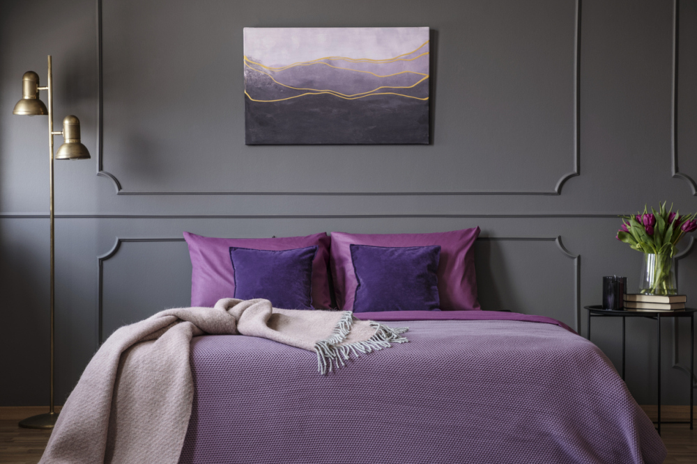 Bedrooms to Inspire You to Go Lavender