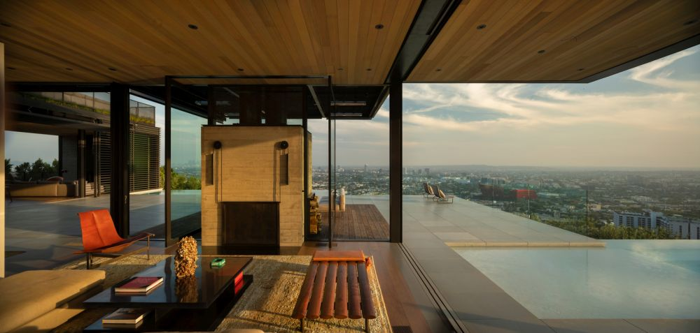 This modern and open design paired with these spectacular views make living here feel like an outdoor adventure