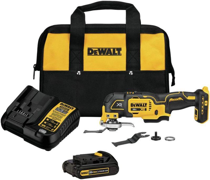 DEWALT 20V MAX XR Oscillating Tool Kit