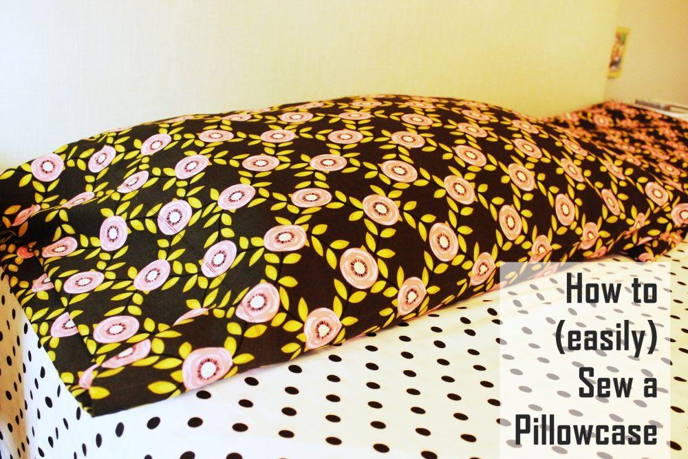 Sewing a Pillowcase