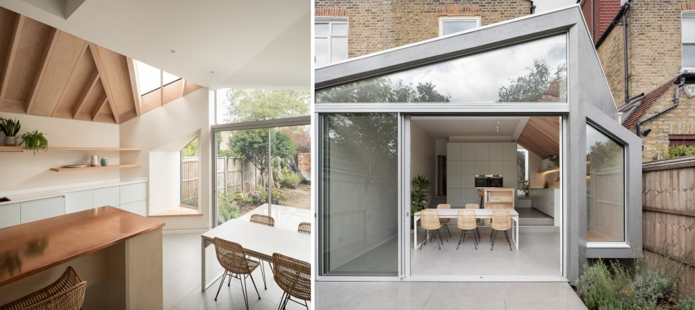 A Beautiful Garden Extension Adds Character To An Edwardian Terrace House