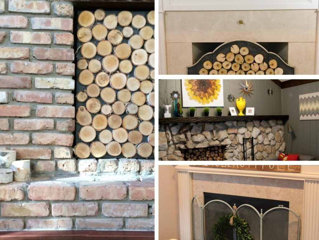 DIY Your Own Fireplace Screen