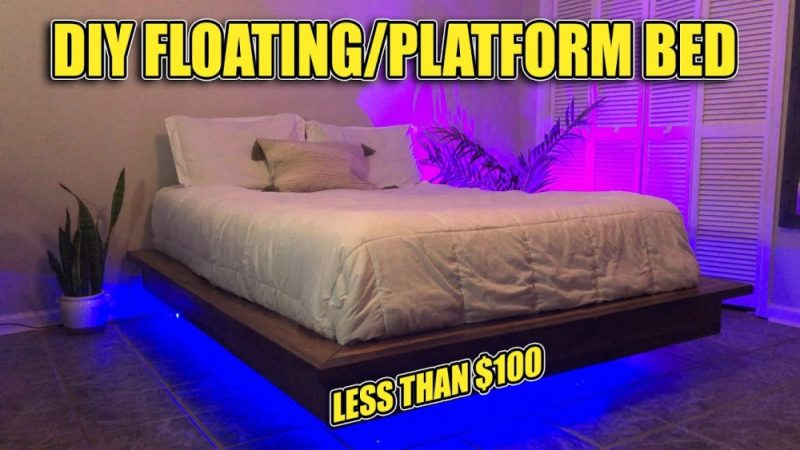 DIY Floating Bed Frames – How To Design, Plan And Build Them From Scratch