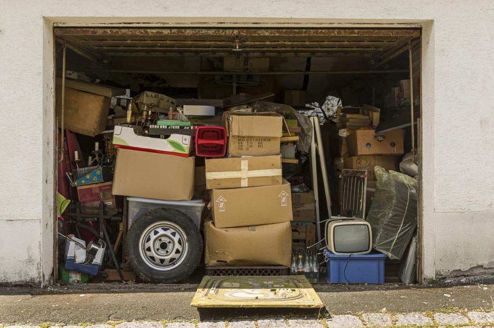 Garage full storage