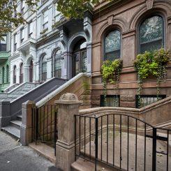 Garden Apartments below street level
