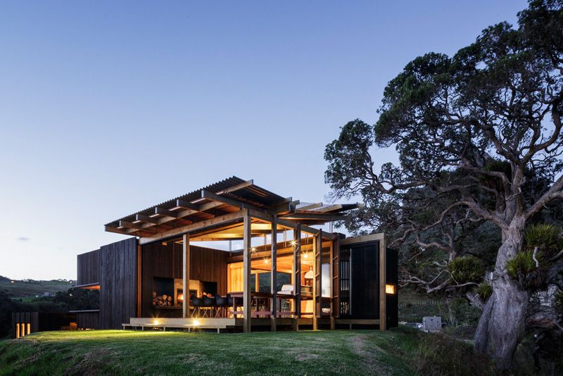 The Castle Rock beach house - New Zealand