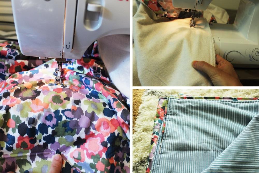 Sewing a Lightweight Quilt