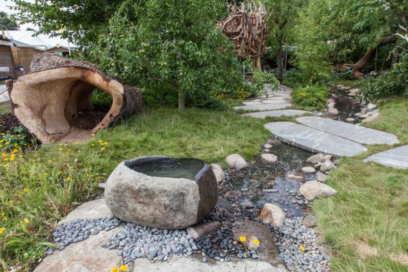 园林绿化岩石的类型以及如何使用它们