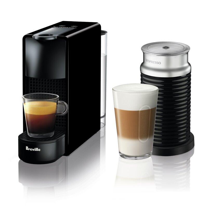 Nespresso Essenza Mini Espresso Machine Bundle by Breville