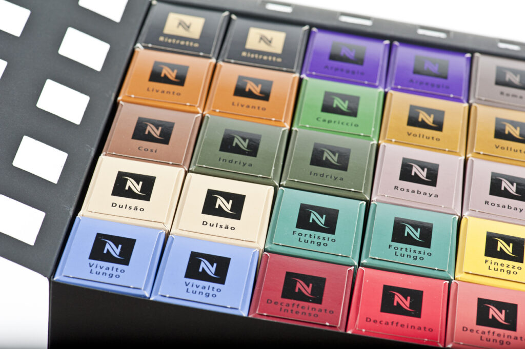 Variety -- Coffee pods for the Nespresso machines