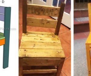 儿童时尚和实用的户外椅子