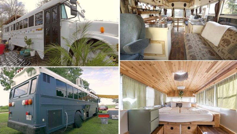 What It's Like To Live In A School Bus – 15 Inspiring Skoolie Conversions