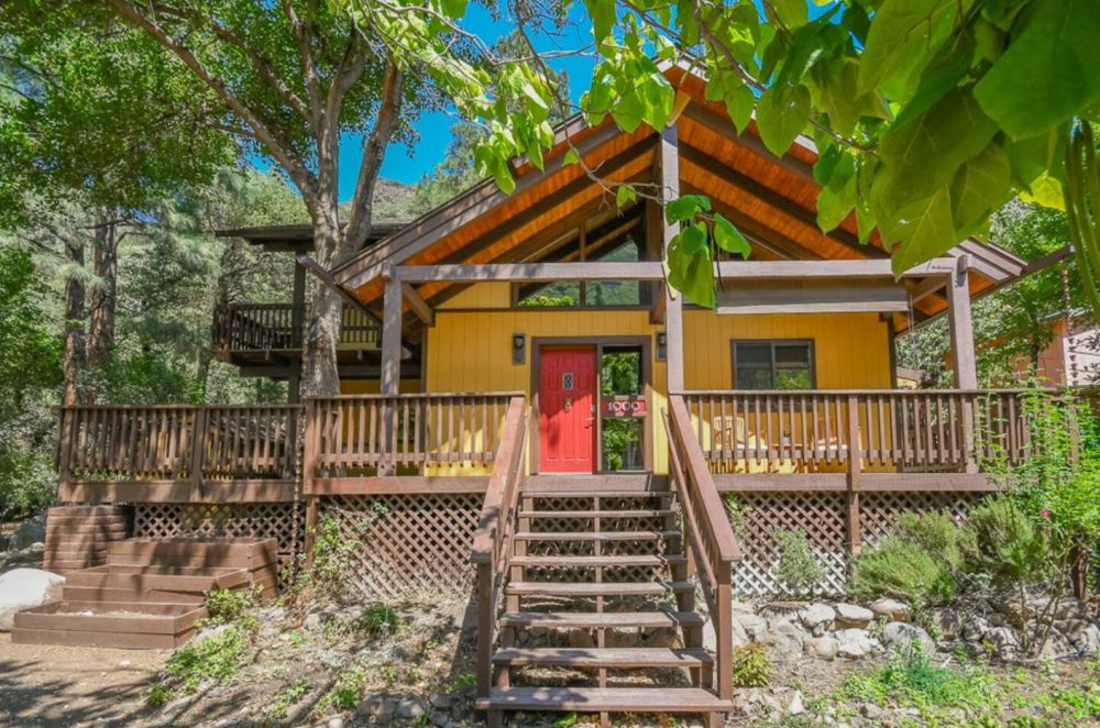 Sedona Oasis Near Slide Rock Arizona Cabin Rentals