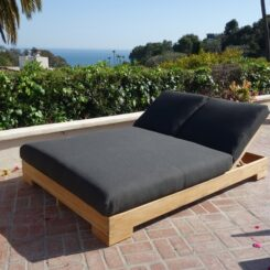 Outdoor Double Chaise Ideas