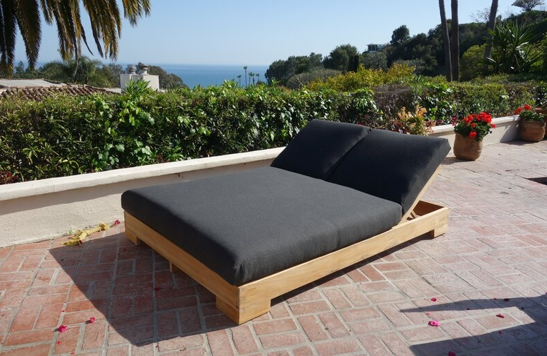 Outdoor Double Chaise Lounge Ideas, Double Chaise Lounge Outdoor