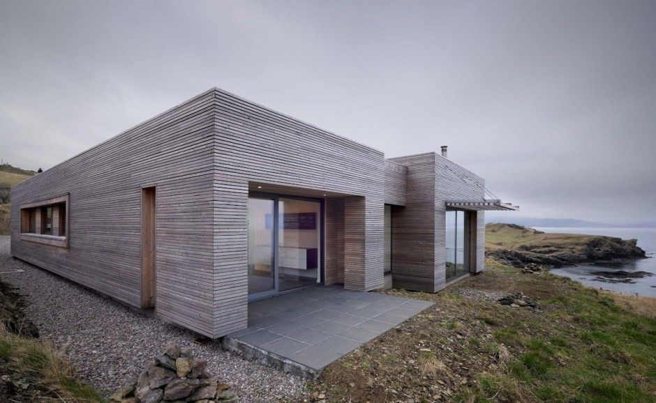 modern one story house