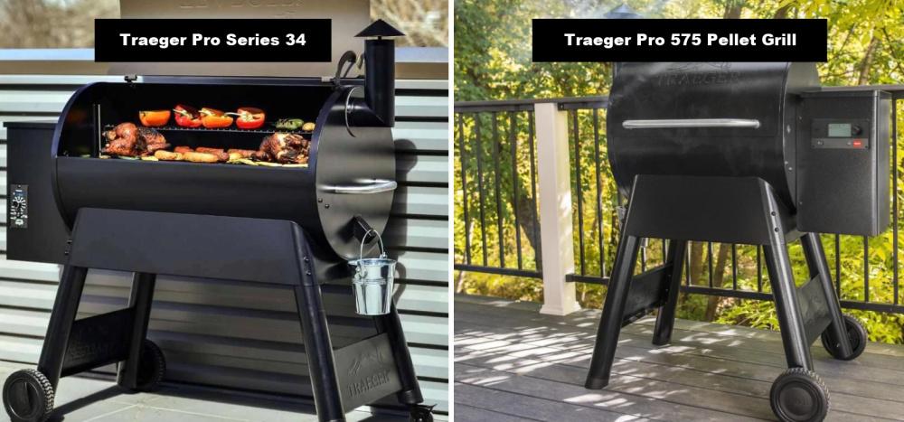 Traeger Pro Series 34 VS Traeger Pro 575
