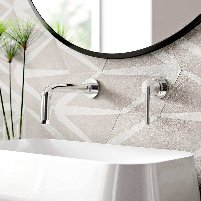 Trinsic Wall Mounted Modern Bathroom Faucet