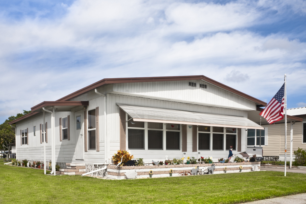 types of mobile home
