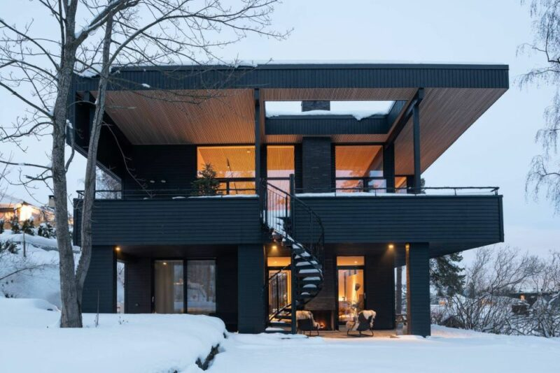 A Contemporary Villa In Norway That Shows Great Respect For The Past