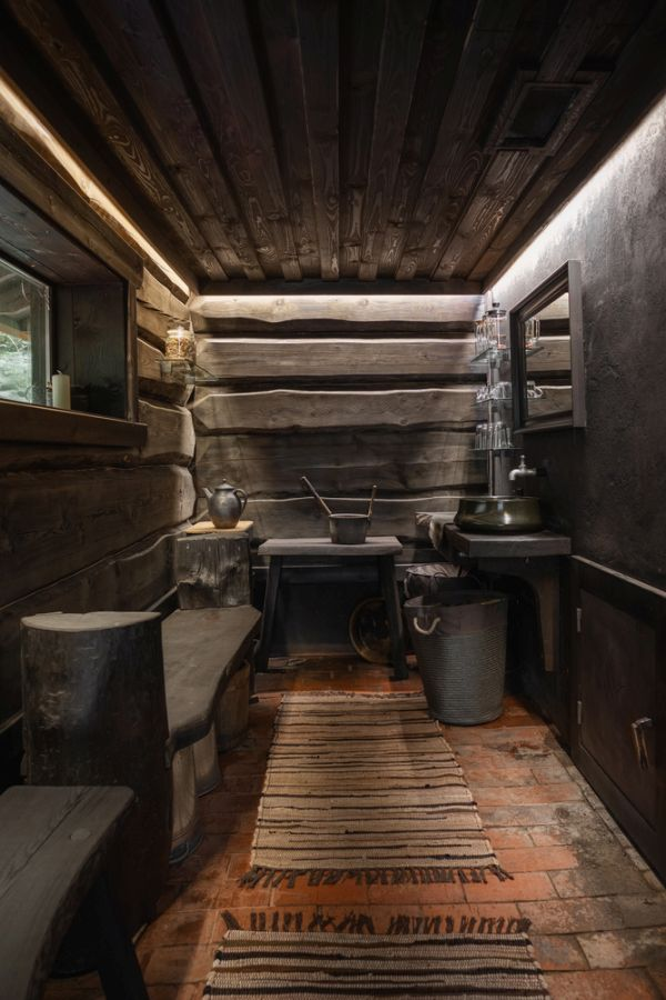 The intentional minimalism and authenticity makes thee cabins very immersive