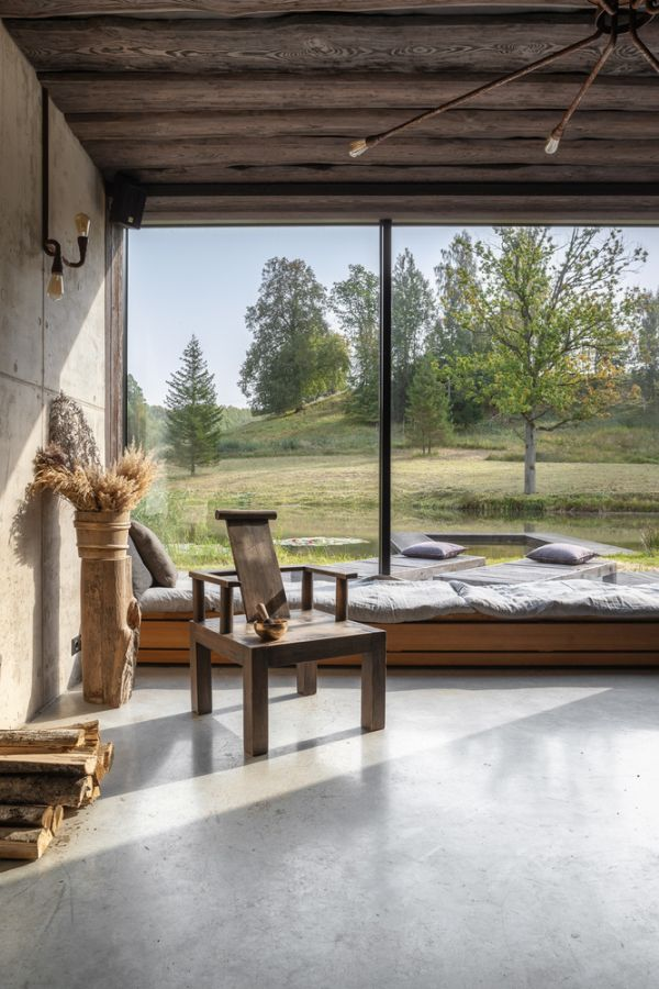 Each cabin enjoys a panoramic view of the beautiful surrounding landscape