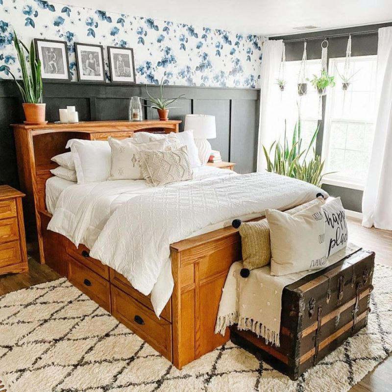Instagram的舒适卧室设计和装饰想法