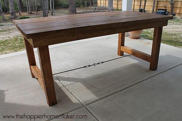 DIY Outdoor Table Ideas