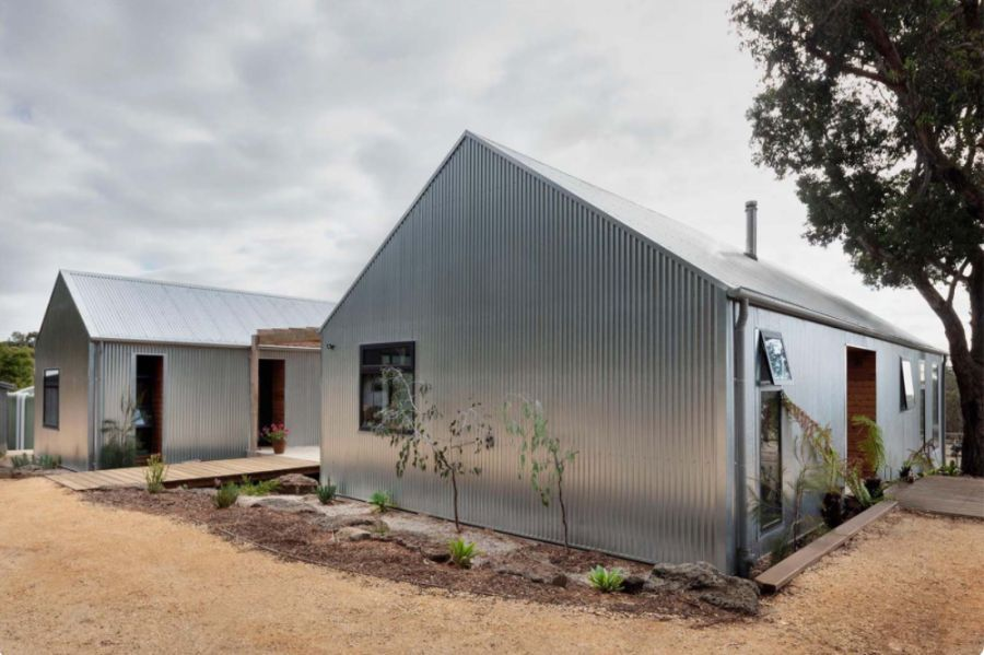 metal siding house