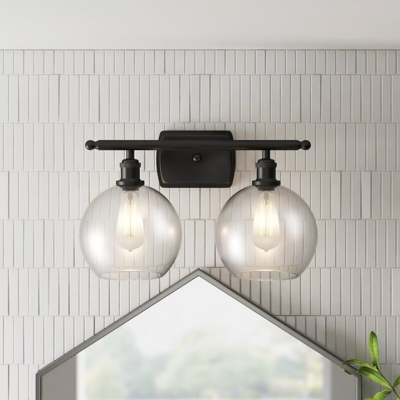 Anchondo 2-Light Dimmable Vanity Light