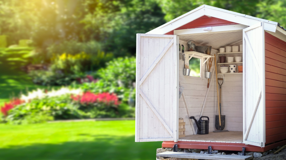 8' X 10' Firewood Storage Shed Project Plans