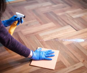 Shiny Wooden Flooring With The Best Wood Floor Cleaner