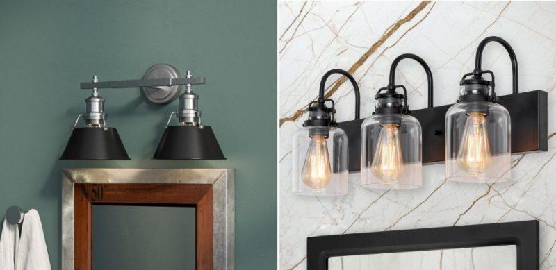考虑使用黑色的新浴室照明灯具18新利在线下载
