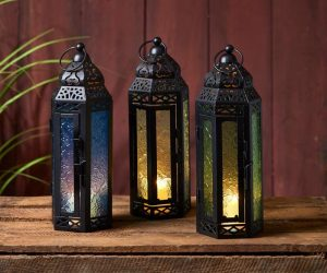 Beat The Winter Blues With Exotic Moroccan Lanterns