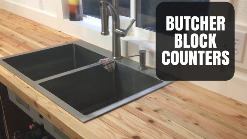 How To Make A Custom Butcher Block Countertop From Scratch